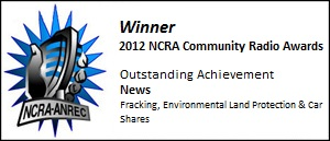 2012 NCRA Award Winners - Outstanding Achivement: News