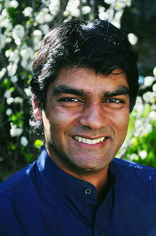 Photo: Raj Patel - economist, activist and academic. Author of Value of Nothing and Stuffed and Starved (source: Wikicommons Media)