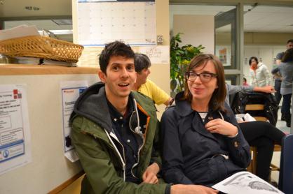 Matt and Annie