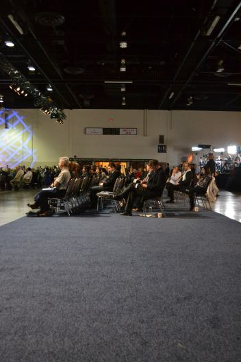 A view from the back of the convention hall at the 2013 Conservative Convention (Photo: Chris Chang-Yen Phillips)