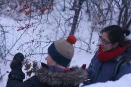 The Winter Goji Berry Hunt (photo credit: Kathryn Lennon)