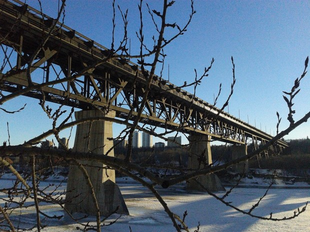 Winter in Edmonton: The Highlevel Bridge